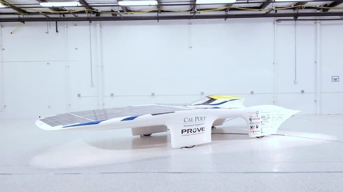 El coche más veloz del mundo impulsado por energía solar