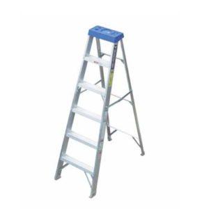 Escalera de Aluminio Simple Acceso 113kg