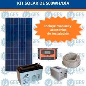 Kit Solar de 500W/día