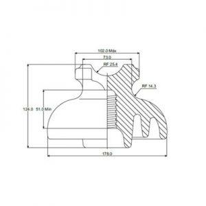 Aislador ANSI 55-5