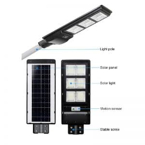 Luminaria Solar Integrada 120w
