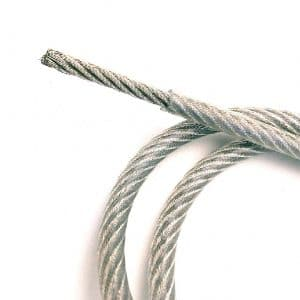 Cable de Acero Forrado de Pvc 2 a 3mm